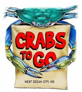 Crabs to Go logo used for Hooked on OC's website