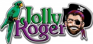Jolly Roger Logo used for Hooked on OC's website