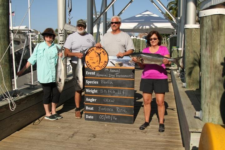 7th Annual Ocean City Marlin Club Memorial Day Tournament - Hooked On OC